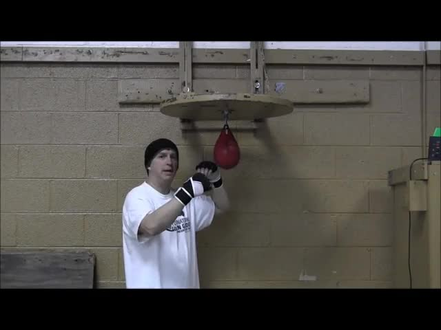 Speed Bag Punches demonstration