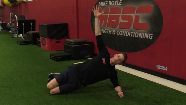 Short-Lever Side Plank demonstration