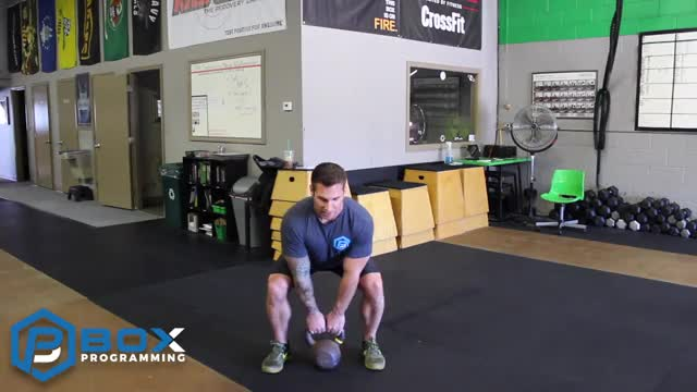 Kettlebell Squat Jumps demonstration