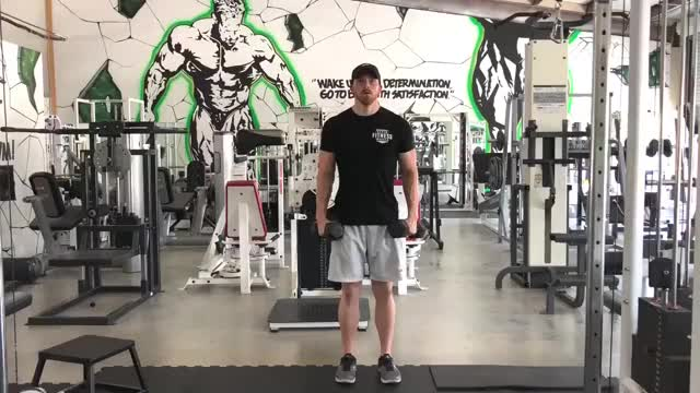 Alternating Lateral Raise with Static Hold demonstration