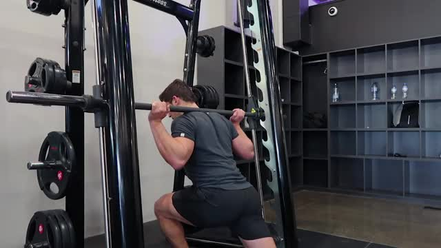Sled Rear Lunge demonstration