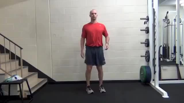 Knee To Chest demonstration