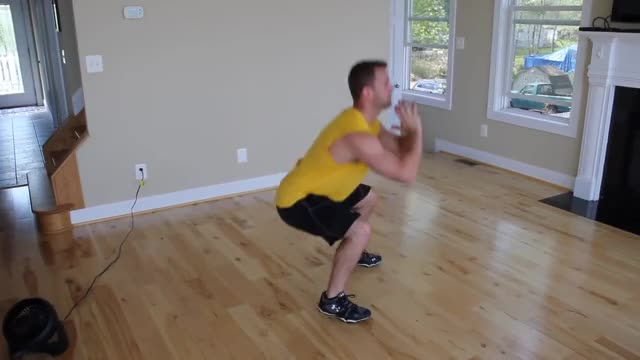 Squat and Rear Lunge demonstration
