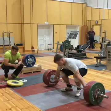 Snatch Pull demonstration