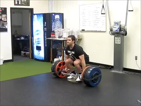 Trap Bar Deficit Deadlift demonstration
