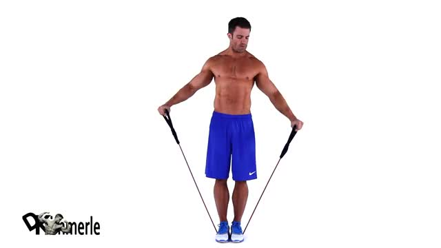 Lateral Raise - With Bands demonstration