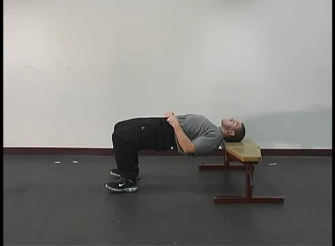 Neck Bridge Prone demonstration