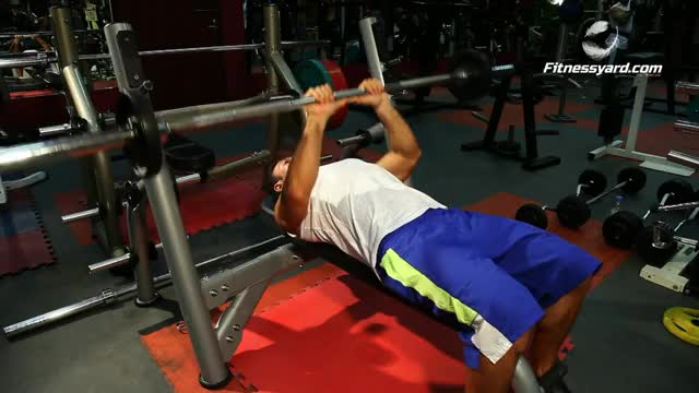 Male Close-Grip Bench Press demonstration