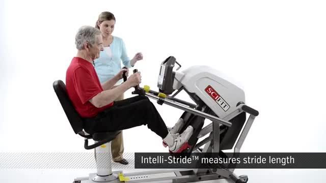 Recumbent Stepper demonstration