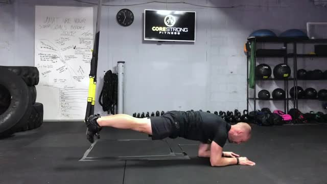 TRX Abs Saw demonstration