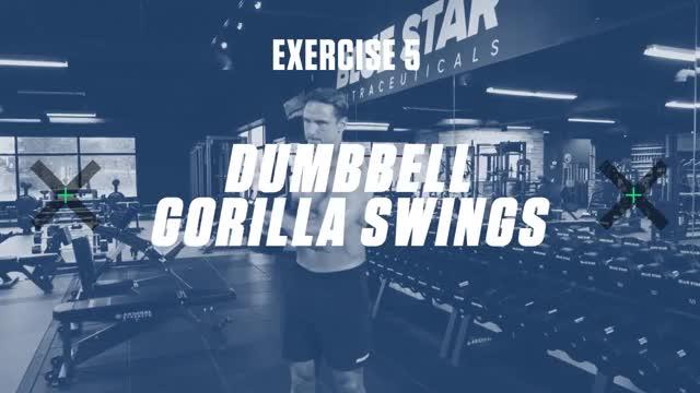 Dumbbell Gorilla Twist demonstration