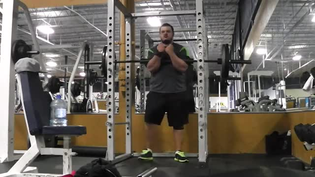 Zercher Squat demonstration
