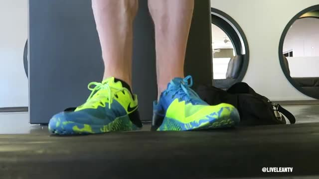 Toes Out Standing Calf Raise demonstration
