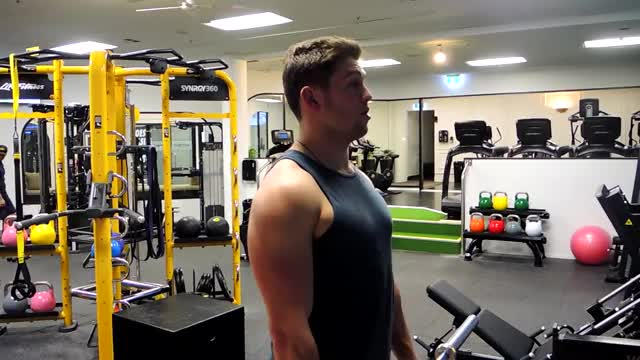 Barbell Shrug demonstration