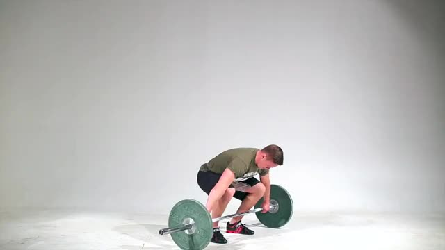 Snatch Deadlift demonstration