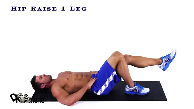Single-Leg Hip Raise demonstration
