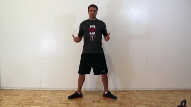 Plie Squat demonstration