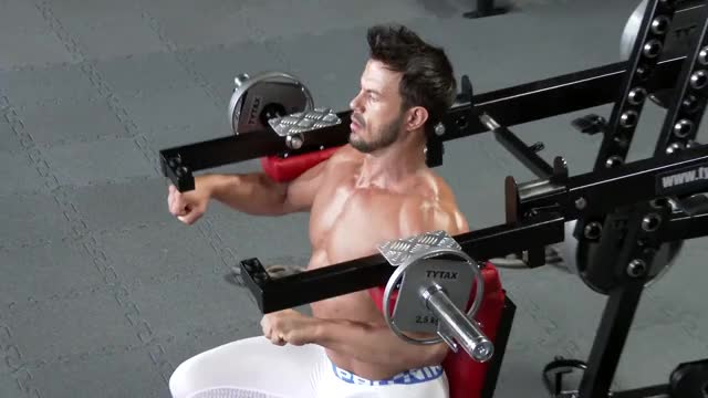 Lever Lateral Raise (plate loaded) demonstration