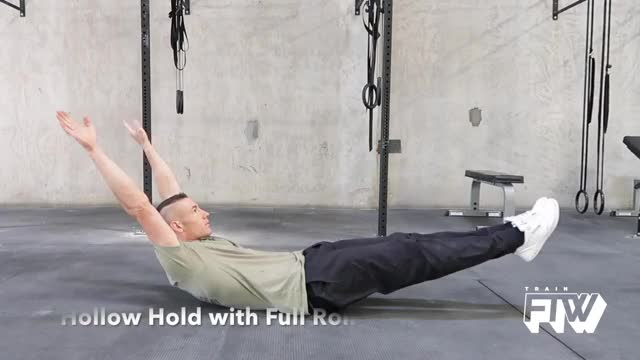 Hollow, Hold and Roll demonstration