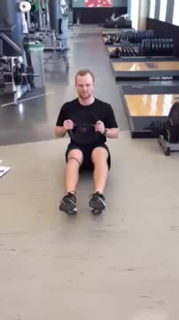 Male Weighted Side Touches demonstration