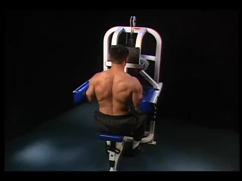 Machine Lateral Raise demonstration
