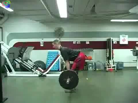 Romanian Deadlift demonstration