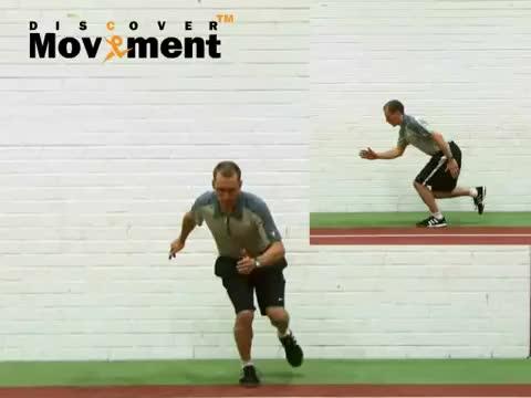 Single Leg Squat Hop With Stabilization demonstration