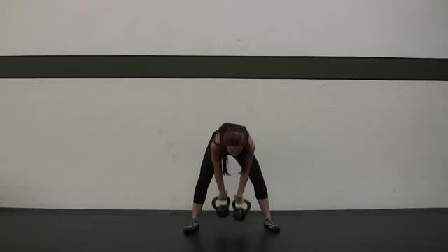 Double Kettlebell Snatch demonstration