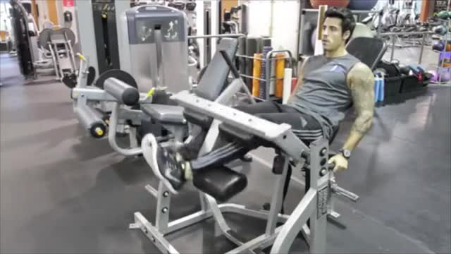 Lever Seated Leg Curl (plate loaded) demonstration
