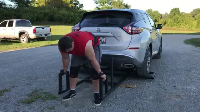Car Deadlift demonstration