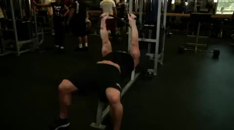 Low Cable Triceps Extension demonstration