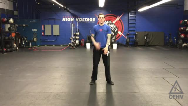 Drop Squat Floor Touch and Reach demonstration