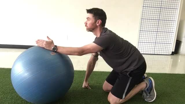 Active Isolated Latissimus Dorsi Stretch demonstration