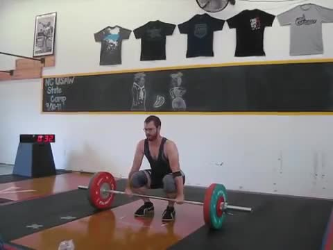 Clean and Jerk demonstration