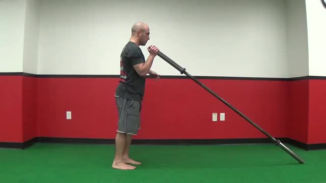 Reverse Lunge and Press demonstration