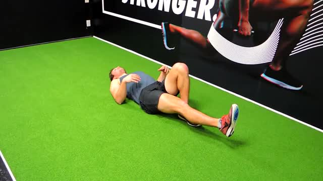 Single Leg Hip Bridge demonstration