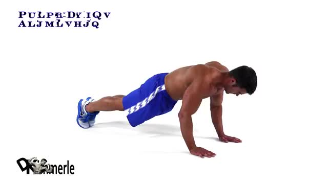 Push Up with Knee Drive demonstration