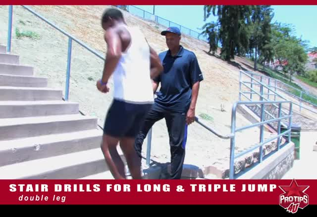 Stair Jumps demonstration