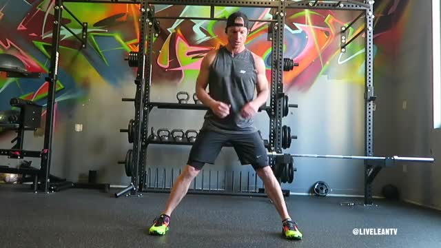 Alternating Lateral Lunges demonstration