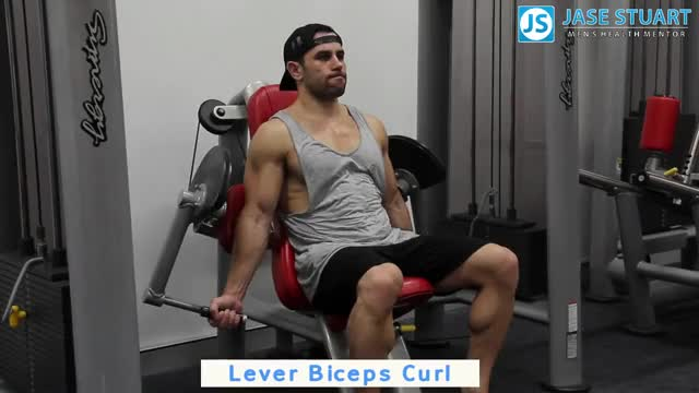 Lever Curl demonstration