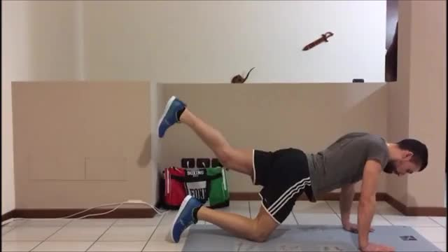 Rear Leg Raises demonstration