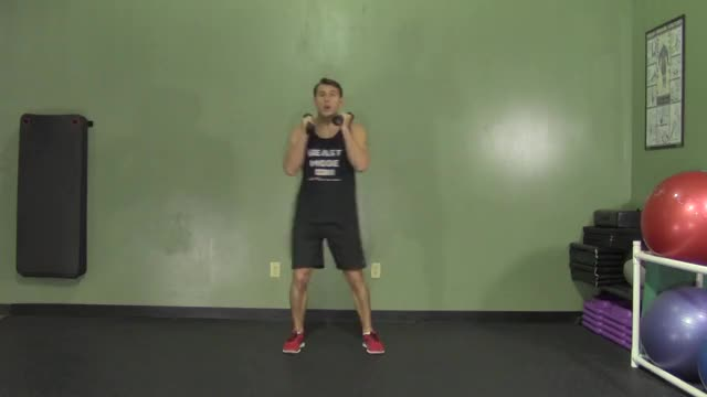 Front Kick and Punch demonstration