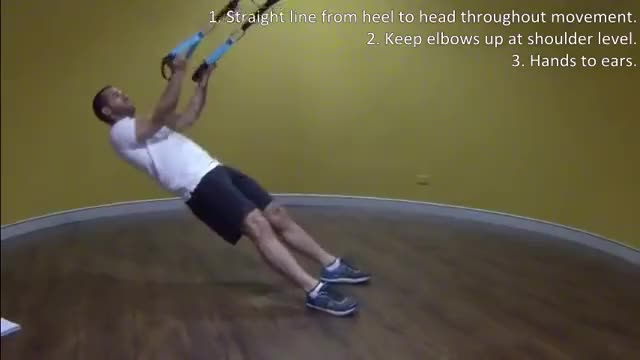 Suspended Curl demonstration