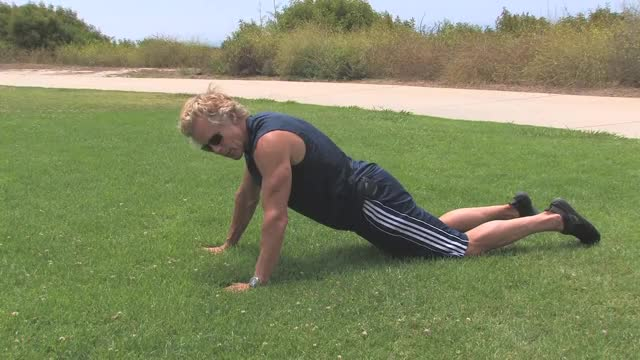 Plank with Knees Down demonstration