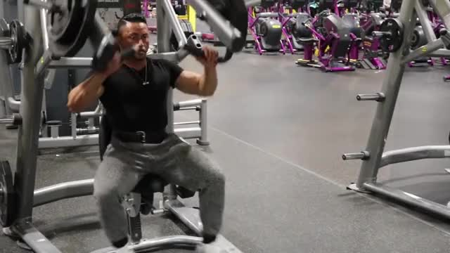 Male Lever Incline Chest Press (plate loaded) demonstration