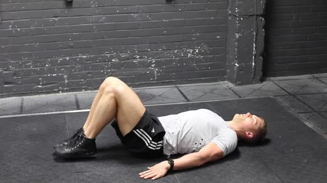 Bent-Knee Hip Raise demonstration