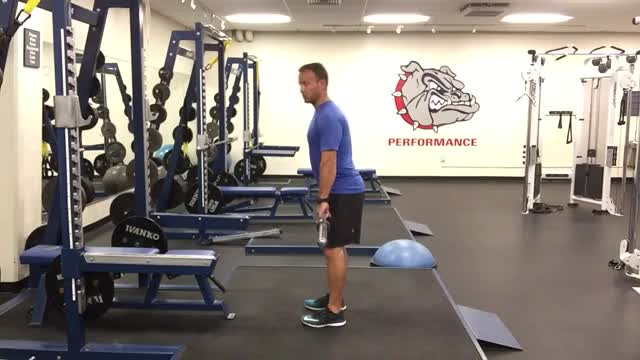 Barbell High Pull demonstration
