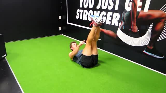 Straight Leg Toe Touch (Floor Toe Reach) demonstration