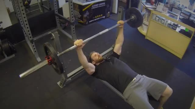 Barbell Guillotine Bench Press demonstration