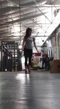 Female Standing One Arm One Leg Opposite Reach demonstration